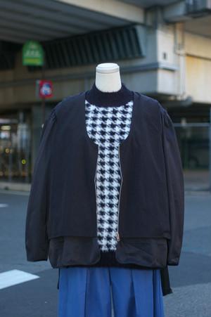 Ladies'  / no  collar JACKET with vest
