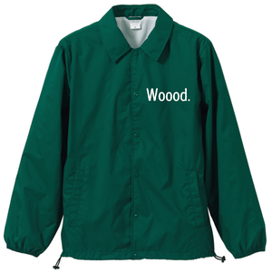 Woood.Coach Jacket / Ivy green