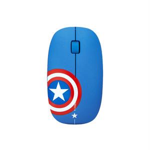 InfoThink MARVEL アベンジャーズ Avengers ワイヤレスマウス 光学マウス Wireless Optical Mouse キャプテン・アメリカ Captain America [並行輸入品]  iWM-100-CA