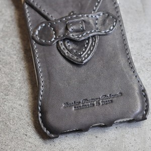 """Father's Day Gift -E- """"iPhone SE case all leather type"""""""
