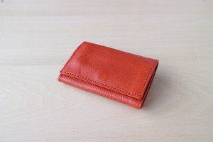 PLAY WALLET - LEATHER[ORANGE]