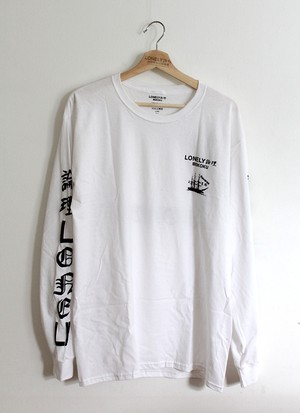"LONELY BEIKOKU ""HOKUSAI HEARTS"" LONG SLEEVE"