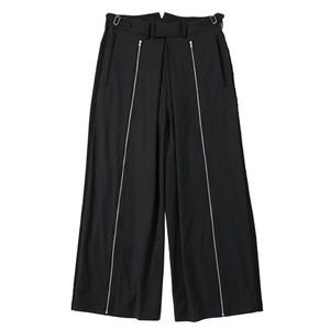 ALMOSTBLACK 18SS side stripe pants