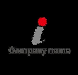 アルファベットIをイメージしたロゴマーク