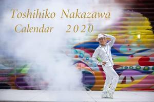 【中澤利彦 2020 カレンダー】 (サイン入り・送料込み)