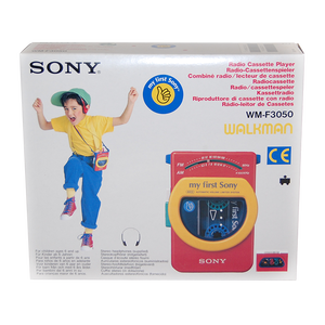 """My First Sony"" Vintage Walkman Deadstock"
