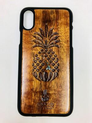 アイフォンケース パイナップル シェル iPhoneXS ウクレレ・ラボ