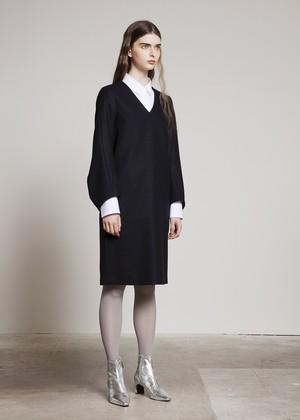 "TOMOUMI ONO ""Wool Dress"""