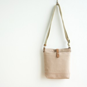 CANVAS SHOULDER S / PINK BEIGE