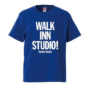 WALK INN KIDS Tee <ブルー>