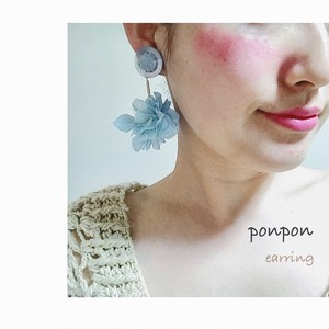 ponpon earring