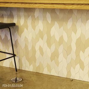 フレディ 六角形 単色 バラ販売/SWAN TILE 北欧カラー