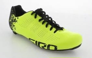 GIRO ジロ EMPIRE ACC (ROAD SHOES) Highlight Yellow / Flash Black サイズEU44(CM28)