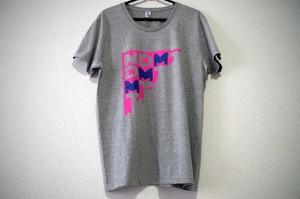 """NDMT""Tシャツ color/グレー"