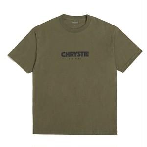 Chrystie newyork OG Logo T-Shirt   M.Green クリスティー NYC Tシャツ