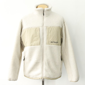 【Mark Gonzales】BOA BLOUSON (NATURAL)