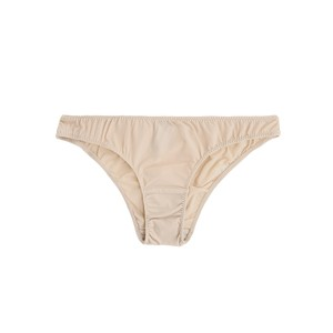 inA CLASSIC SOLID BRIEFS(BEIGE)