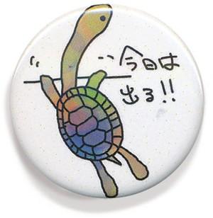 脱走ナガクビ缶バッヂ1