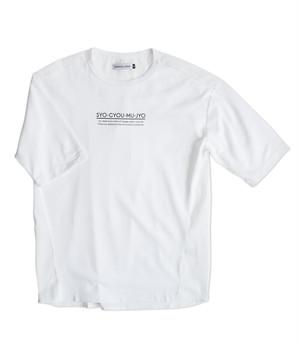 Mellow Label 諸行無常 hybrid T-shirt