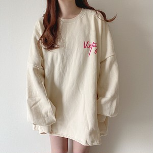 vintage logo sweat【10/26n-17】