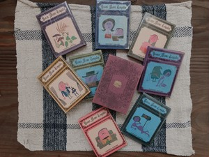 "JAPAN ""洋酒マメ天国"" miniature 8 books set"