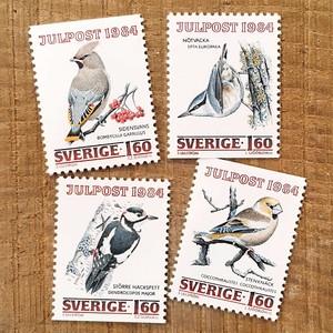 切手(未使用)「1984年版 クリスマス切手 - 4種セット(1984)」