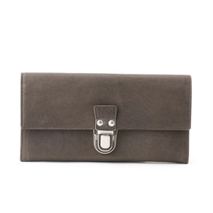161AWA09 Leather long wallet 'cartable' ロングウォレット