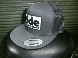 ride ongroundclothing キャップ グレー