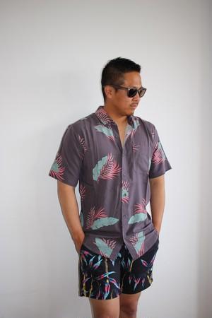 A0412006 ボルコム カジュアルシャツ メンズ 半袖 メンズシャツ ギフト BERMUDAS/S VOLCOM