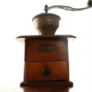 **一部訳アリ PeDe社製 ドイツ ヴィンテージ コーヒーミル  木製