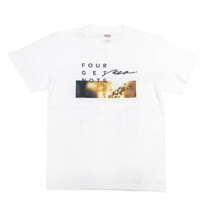 """TOUR """"DEAR & KEEP THE FLAME"""" T-shirt White"""