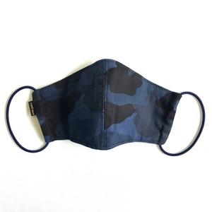 【COTEMER  夏用マスク 日本製】ブルーミリタリーマスク