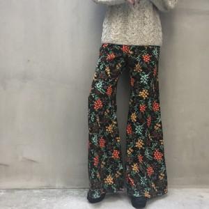70's flower pants