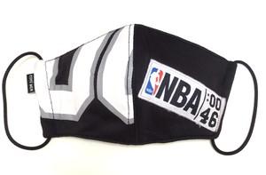 【デザイナーズマスク 吸水速乾COOLMAX使用 日本製】NBA SPORTS MASK CTMR 0227004