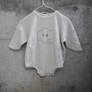 guno Bebe animal suits  アニマル刺繍ワッフル ロンパース ro0015