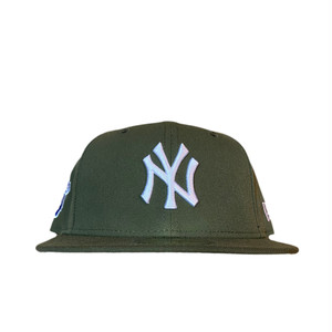 NEW ERA New York Yankees 1998 World Series 59Fifty Fitted / Olive×White (Gray Brim)