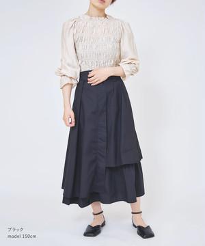 アシメデザインスカート