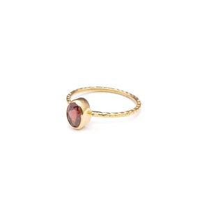 SINGLE PETIT STONE NON-ADJUSTABLE RING 008