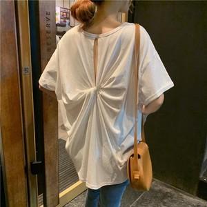 ソリッドカラーワイドTシャツ