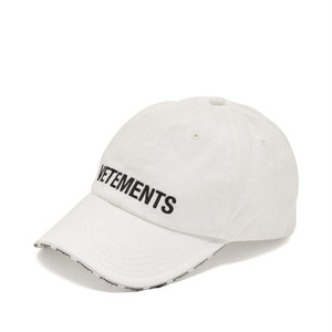 VETEMENTS LOGO CAP キャップ / WHITE / 2019AW