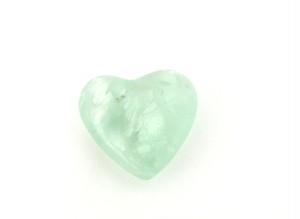 「ブラジル産 レインボー フローライト(蛍石) オーラ(虹)入り 高品質結晶 ハート型」 約26g AGZ-146