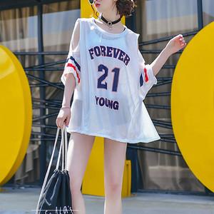 <即納>3点セット ボーイレッグ ビキニ & オープンショルダー メッシュ Tシャツ 水着 おしゃれ 0227