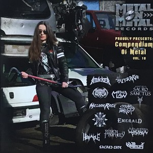"Metal On Metal Records Various Artists ""Compendium of Metal Vol. 10"""