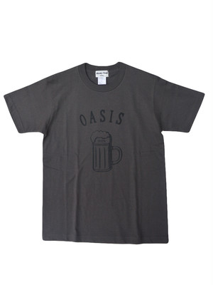 weac.(ウィーク)Honky Tonk Tシャツ【OASIS】CHARCOAL(S)