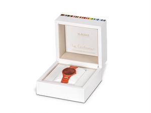 【RADO ラドー】True Thinline Les Couleurs™ Le Corbusier  Cream white 32001 シンライン ル・コルビュジエ(クリームホワイト)/国内正規品 腕時計