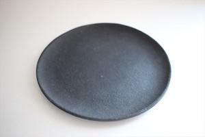 フルカワゲンゴ(撫菜花工藝)|南蛮(墨) 6寸皿