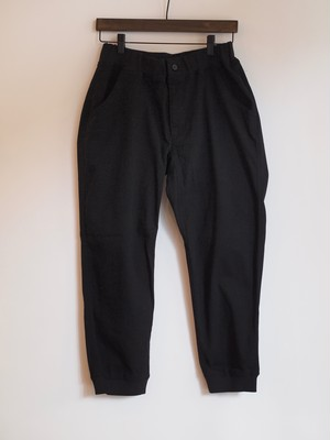 【nachukara】Cotton Twill Rib Docking Pants