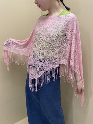 crochet poncho / 6SSOU27-16