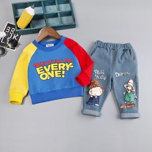 【セットアップ】新しい子供の長袖のスーツ0-1-2-3歳の赤ちゃん秋韓国語2点セット24835908