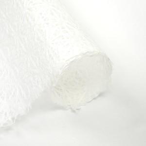 美濃楮 手漉き落水紙 「花麻」 薄口(生成)